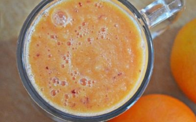 Blood orange citrus smoothie