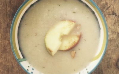 Celeriac & Apple Soup