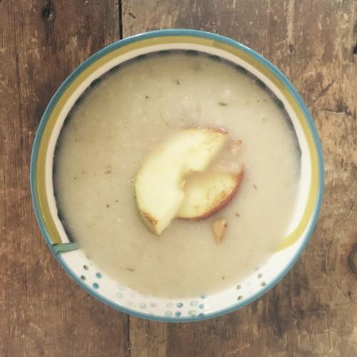 Celeriac & Apple Soup