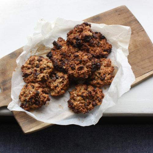 Cranberry quinoa cookies