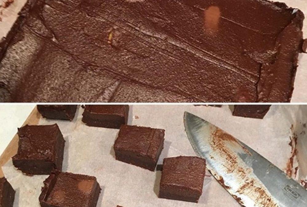Ultimate indulgence raw chocolate brownies