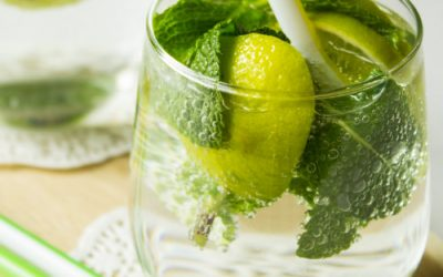 Lime mojito (non – alchoholic)