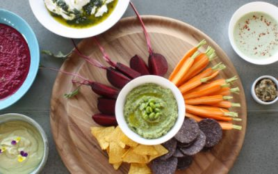 Herb & olive dip