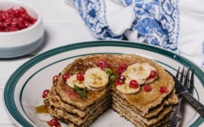 Best banana healthy pancakes