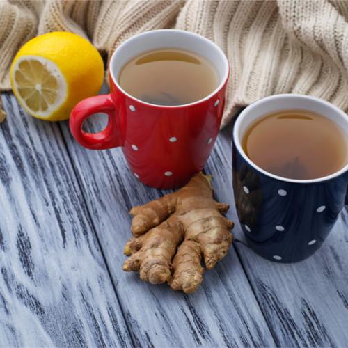 Warming spiced rooibos tea