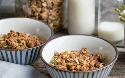 Peanut Butter and Cinnamon Granola
